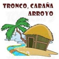 Dinámica Tronco, Cabaña, Arroyo