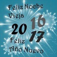 ¡Feliz Noche Vieja y Año Nuevo!