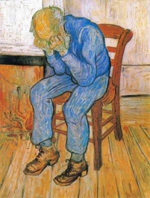 Anciano en Pena