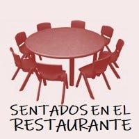 Dinámica Sentados en el Restaurante