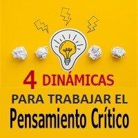 4 Dinámicas para Trabajar el Pensamiento Crítico